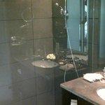 Room 121 shower room