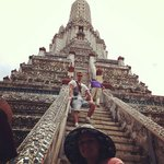 One of the temples we visited