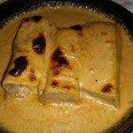 Canelones de confit de pato - Restaurant Can Bolet (Lloret de Mar)