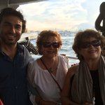 On the ferry to Kadikoy