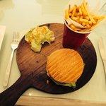 The Burger. Classic!! Cafe Soul at Lush❤️❤️❤️����