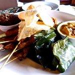 Indonesian platter