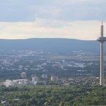 Fernsehturm from Mainturm