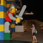 Legoland Resort back yard