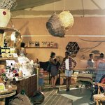 Gathering place for local tapas-bar, specialty gifts, ecological workshops and tourist info