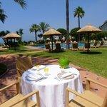 Terrace Restaurant Pool area