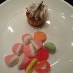 Candies and Cupcake