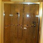 Beautiful luxurious shower