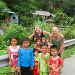 Meeting the minority village children