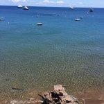Il mare dall'hotel