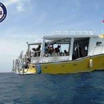 Barco de Buceo del Resort