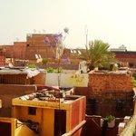Vue du Riad