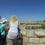Ana showing us the historical landmarks