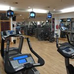 could be one of the best hotel gyms?