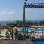 Vistas desde la piscina de la azotea