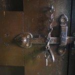 Here's how you lock the bathroom door