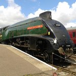 A4 60009 UNION OF SOUTH AFRICA at Dereham on the Mid Norfolk Railway. 60009 is usually found on