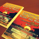 """""""Best of the Beach"""" Awards 2014- Best Resort and Best Hotel on Fort Myers Beach"""