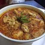 Laksa.. Thick and spicy