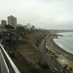 One can walk along these cliffsides on the Miraflores boardwalk