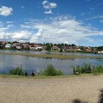 waterview at the bottom of Koldinghus