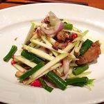 Soft shell crab salad (Thai)