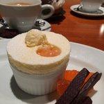 Fantastic soufflé (dessert of the day)
