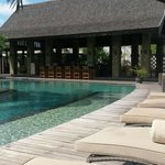 One of the pools - in Royal garden villas