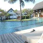Pool by royal garden villas