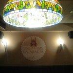 Detalle de las lamparas.