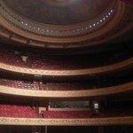 Interior visto do palco
