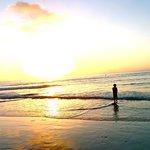 nephew on the beach at LJBTC