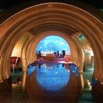 ingresso al ristorante sottomarino