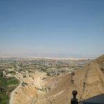 mais uma vista de jerico tirada da montanha