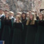 Canadian chorus in the church