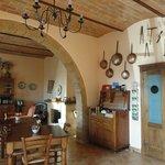 Área interna, salão do restaurante