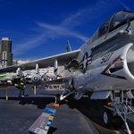 Corsair II on the flight deck