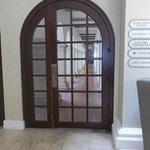 Spanish style door