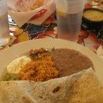 Fajitas Burrito..delicious & filling!