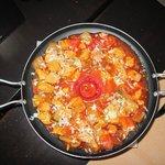 Anatolian Pan, een super lekker hoofdgerecht.