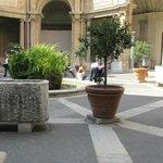 Courtyard in Vatican Museum