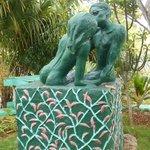 X-Tabi statue