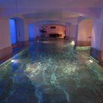 Swimming pool in hotel spa