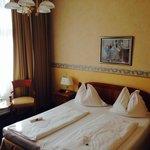 chambre de l'hotel Beethoven