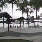 plage très calme et peu profonde