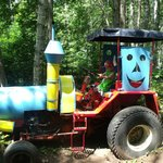 Drive a tractor