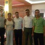 The top restaurant staff