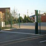 Secure parking gate