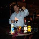 Miguel Preparing the Mexican Coffee