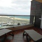 balkon, widok z pokoju